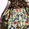 Attractive Gorgeous Brown Kanchipuram silk saree dvz0002054