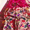 Attractive Gorgeous Pink Kanchipuram silk saree dvz0002057