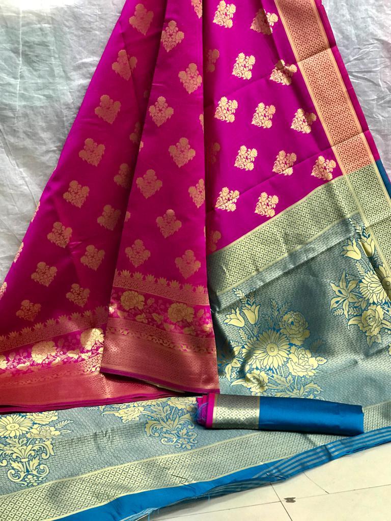 Beautiful Pink Art Silk saree dvz0002529