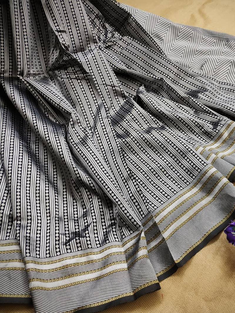 Blue Lichi Silk saree shopping dvz0002190