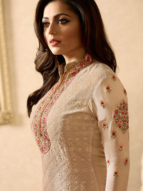Cream-colored-beautiful-embroidered-georgette-straight-cut-suit-dvz00083 (3)