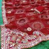 Gorgeous women's Bandhani Printed saree dvz0001661