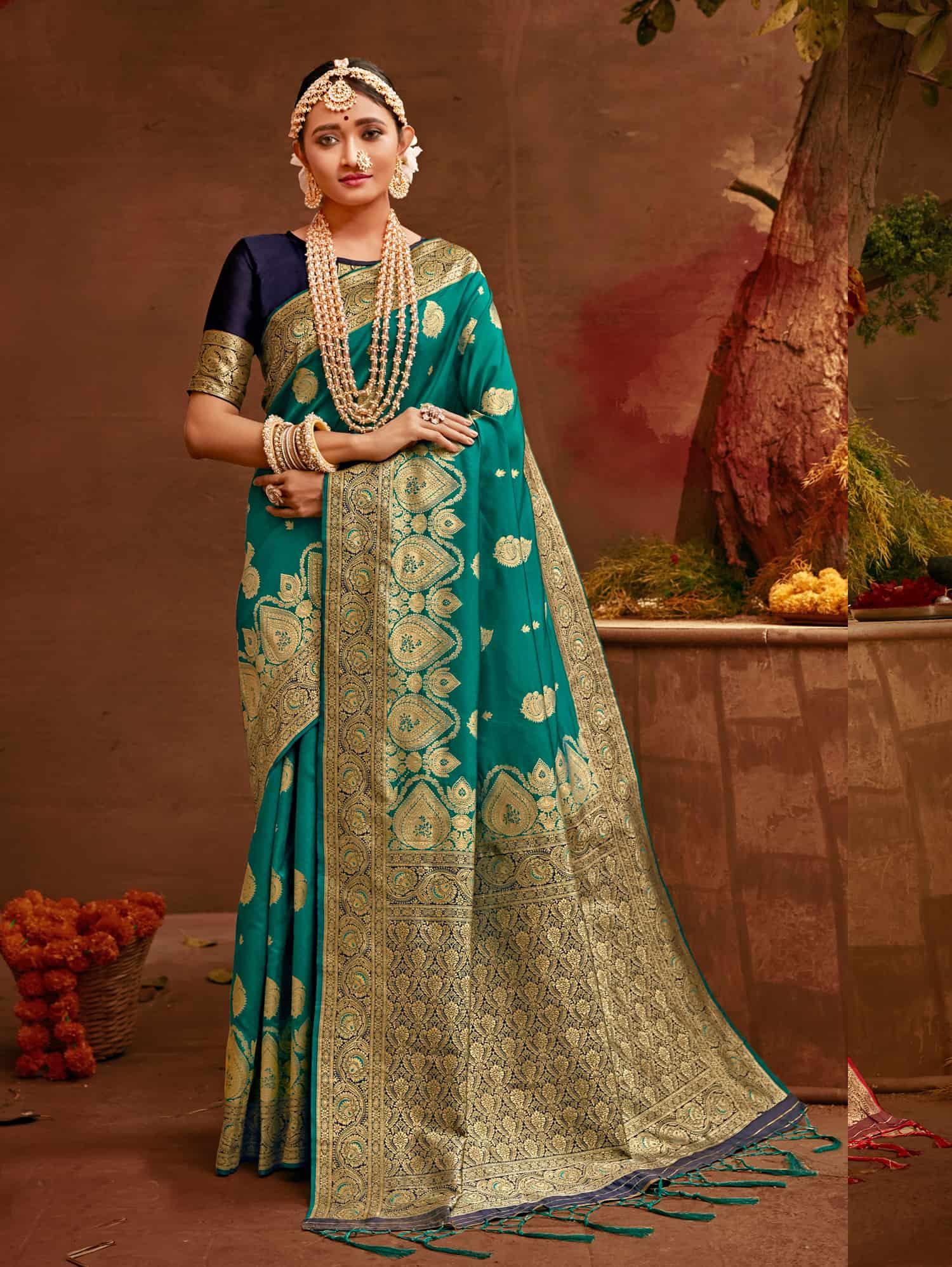 Green Fancy soft silk Traditional saree dvz0002518