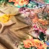 Japanese Rainbow silk Digital Printed Saree dvz0001742
