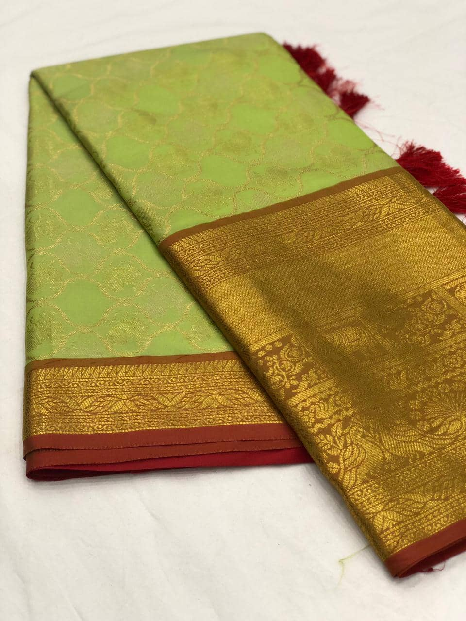 Light Green kanjeevaram silk sarees online shopping dvz0001993
