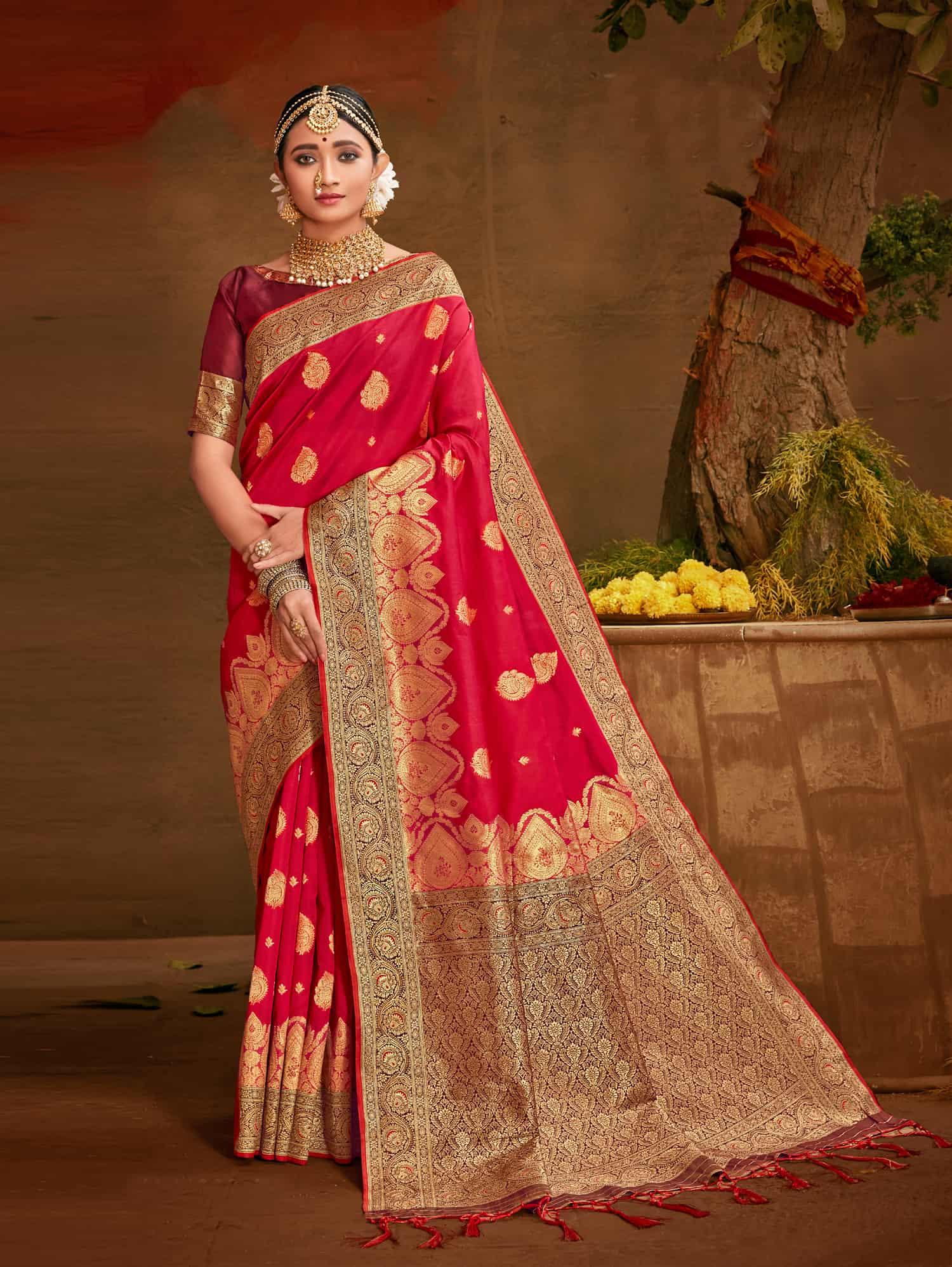 Pink Fancy soft silk Traditional saree dvz0002515