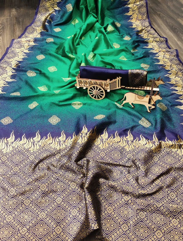Silk weaving saree online By dvanza dvz0001303