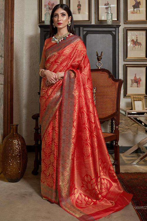 Soft Weaving silk saree online india -dvanza-dvz0001262