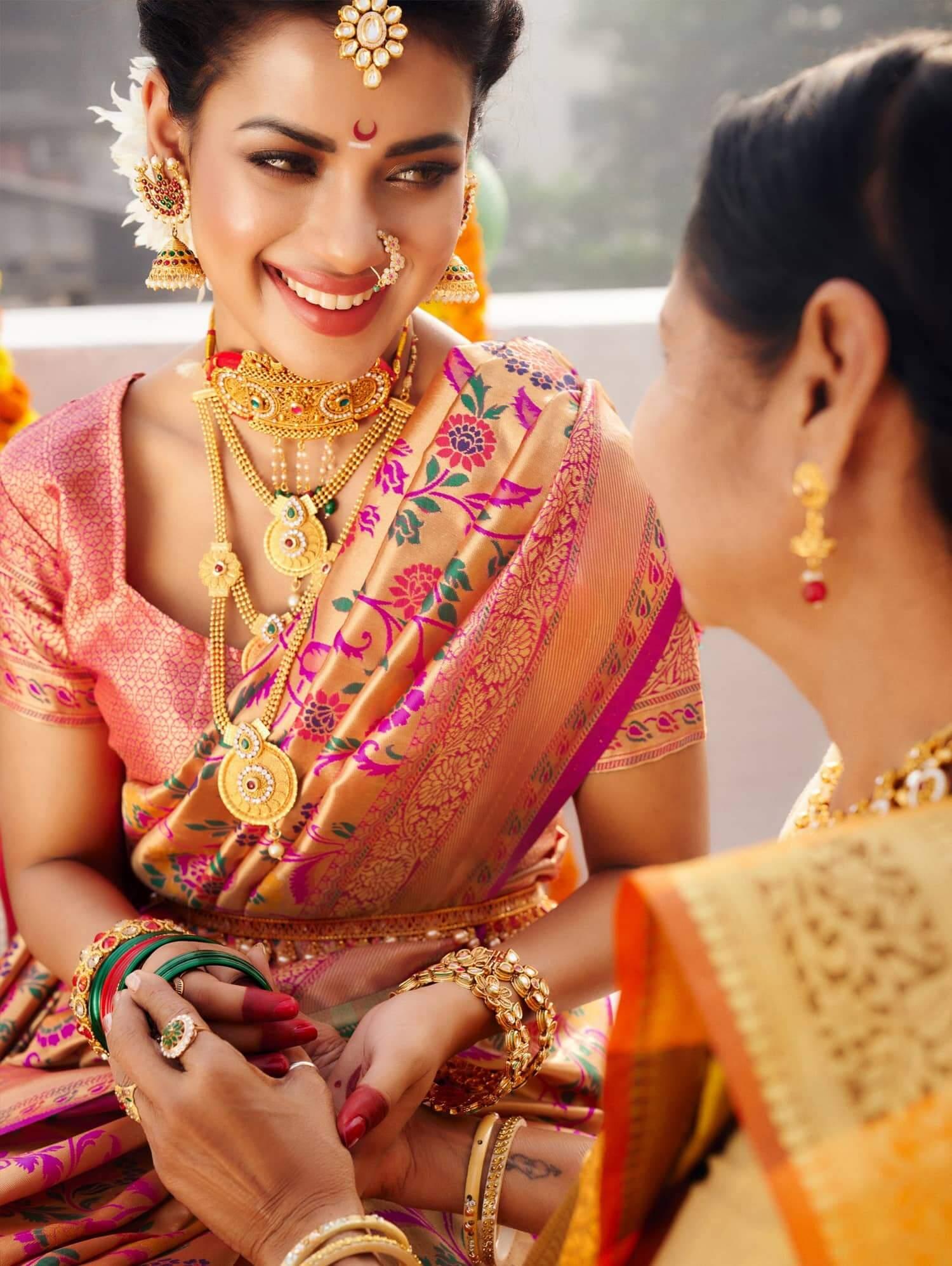 Stylish Kanchipuram Silk Bridal Saree dvz0002472-3