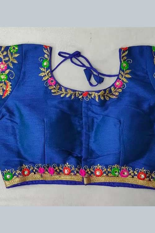 Women's Blouse (Blue) dvz0001024