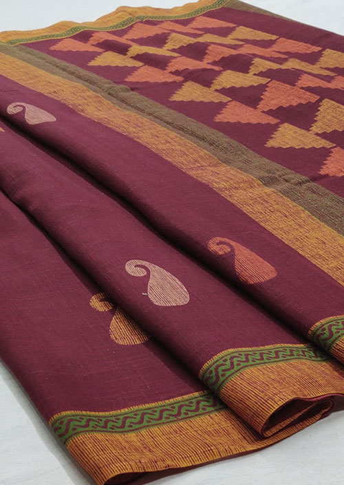 Women's Pink Linen silk saree - Linen silk sarees india - dvz000055