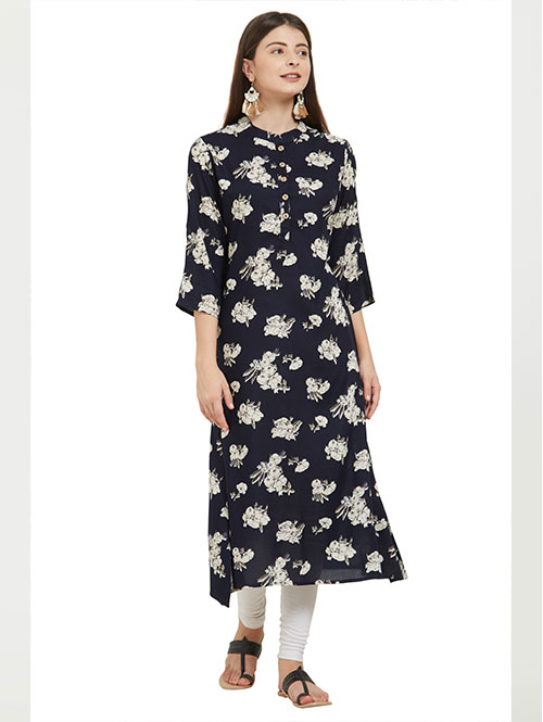 black-color-beautiful-printed-rayon-a-line-kurti-dvz000234