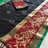 black-color-cotton-silk-embroidery-saree-dvz00070