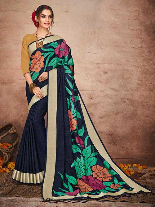 black-colored-beautiful-soft-slab-branded-saree-dvz000178 (2)