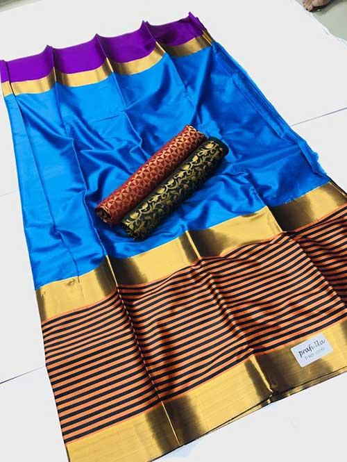 blue-colored-beautiful-branded-cotton-silk-saree-dvz000165 (1)