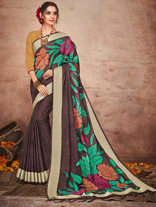 brown-colored-beautiful-soft-slab-branded-saree-dvz000180 (2)