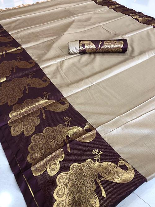 cream-color-beautiful-cotton-silk-saree-dvz00045