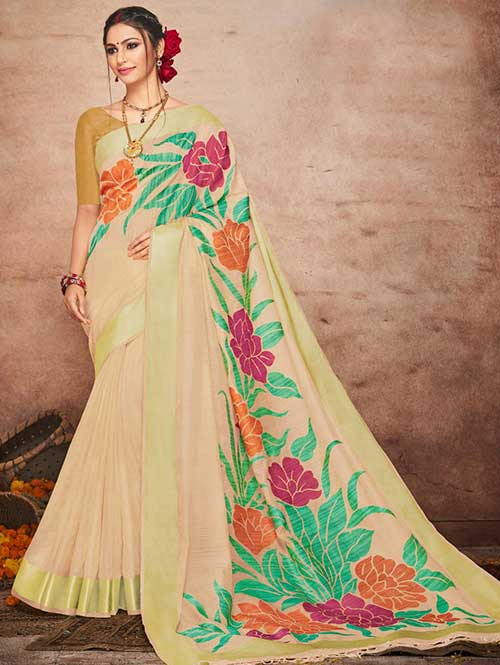 cream-colored-beautiful-soft-slab-branded-saree-kashi-dvz000181 (2)