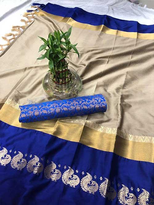 cream-colored-cotton-silk-saree-dvz00023