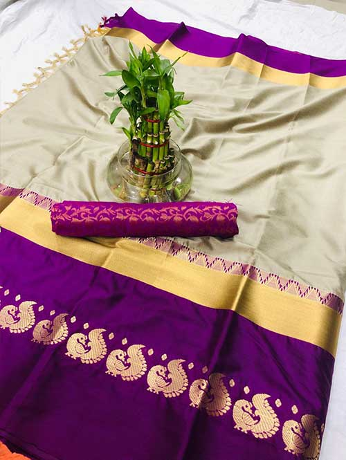 cream-colored-cotton-silk-saree-dvz00024