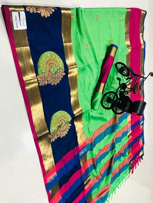 green-color-cotton-silk-embroidery-saree-dvz000197