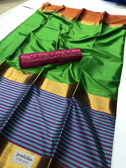 green-colored-beautiful-branded-cotton-silk-saree-prafulla-dvz000166 (1)