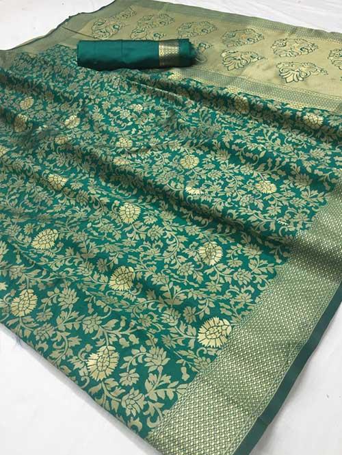 green-colored-beautiful-branded-weaving-silk-saree-dvz000205