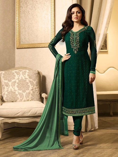 green-colored-beautiful-embroidered-georgette-straight-cut-suit-dvz00084 (3)