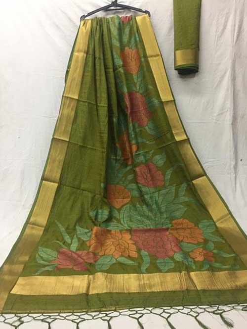 green-colored-beautiful-soft-slab-branded-saree-dvz000185 (1)