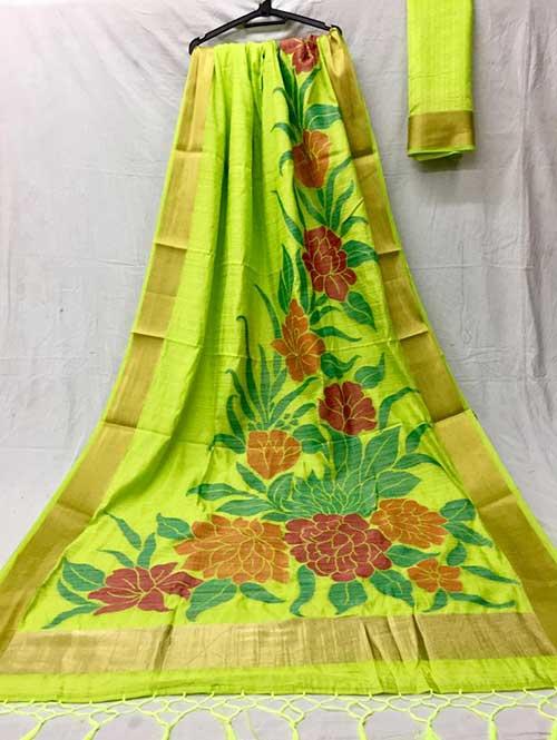 green-colored-beautiful-soft-slab-branded-saree-kashi-dvz000179 (1)