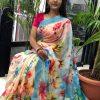 latest linen sarees with price dvz0001917