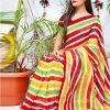 multi Color Bollywood Style Sequence work saree dvz0002130