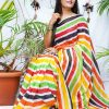 multi Color Bollywood Style Sequence work saree dvz0002131