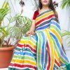 multi Color Bollywood Style Sequence work saree dvz0002132