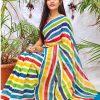multi Color Bollywood Style Sequence work saree dvz0002133