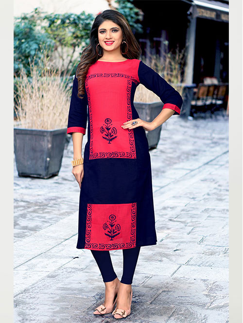 multi-color-beautiful-printed-cotton-straight-kurti-dvz000229