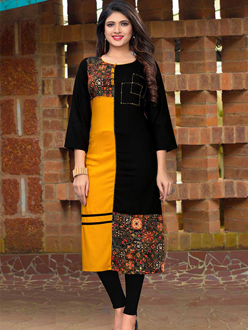multi-color-beautiful-printed-rayon-straight-kurti-dvz000224