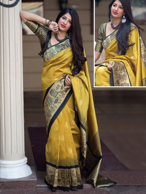 multi-colored-beautiful-branded-weaving-silk-saree-dvz000129 (1)