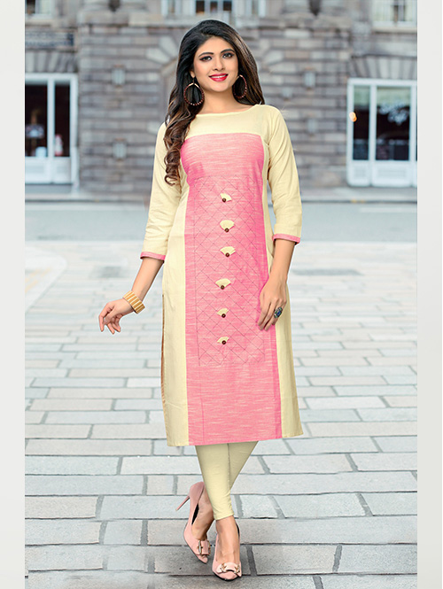 off-white-and-pink-color-beautiful-embroidered-cotton-straight-kurti-dvz000232
