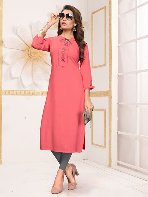 peach-colored-beautiful-rayon-straight-kurti-dvz000248 (2)