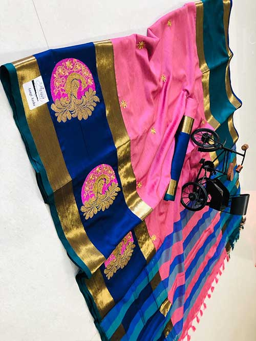 pink-color-cotton-silk-embroidery-saree-dvz000199