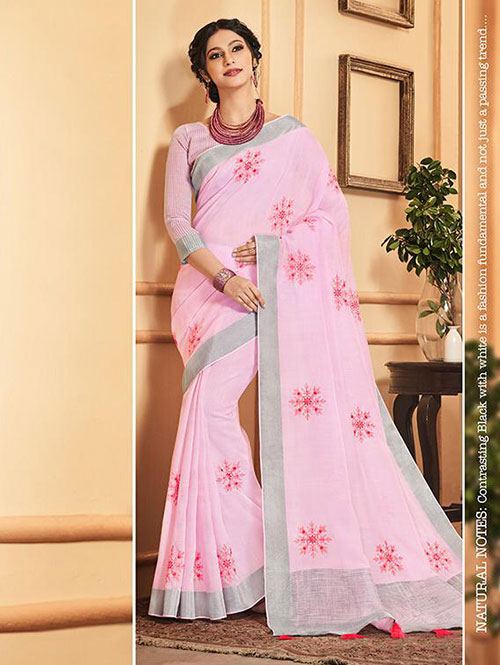 pink-colored-beautiful-embroidered-branded-linen-saree-dvz000160 (3)