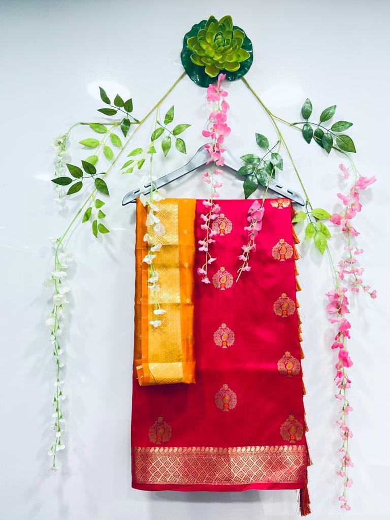 pink silk cotton sarees online shopping dvz0002080