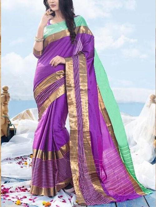 purple-colored-beautiful-branded-cotton-silk-saree-dvz000171 (2)