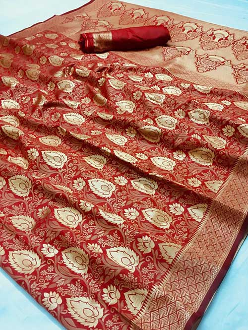 red-colored-beautiful-branded-weaving-silk-saree-dvz000211