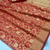 red-colored-beautiful-branded-weaving-silk-saree-dvz000212