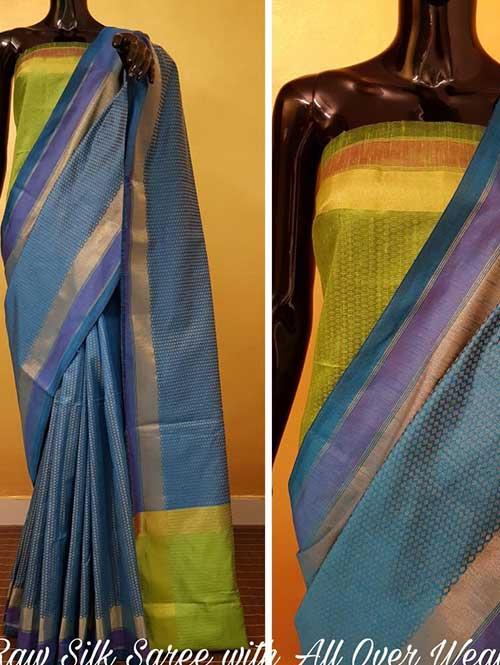 sky-color-beautiful-raw-silk-saree-dvz000138