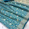 sky-colored-beautiful-branded-weaving-silk-saree-dvz000213