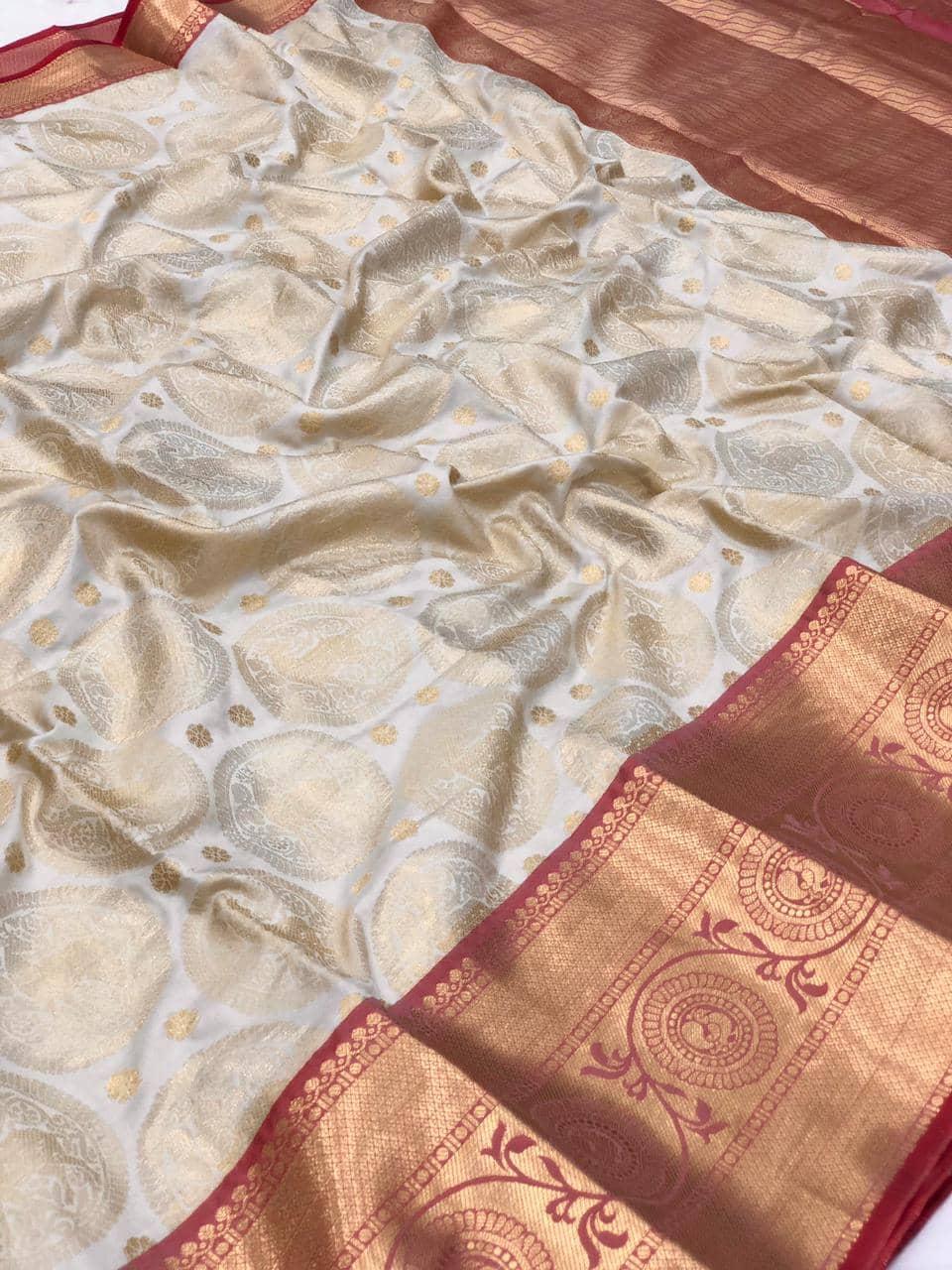 white kanjeevaram silk sarees online shopping dvz0002111