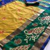 yellow-color-cotton-silk-embroidery-saree-dvz000127